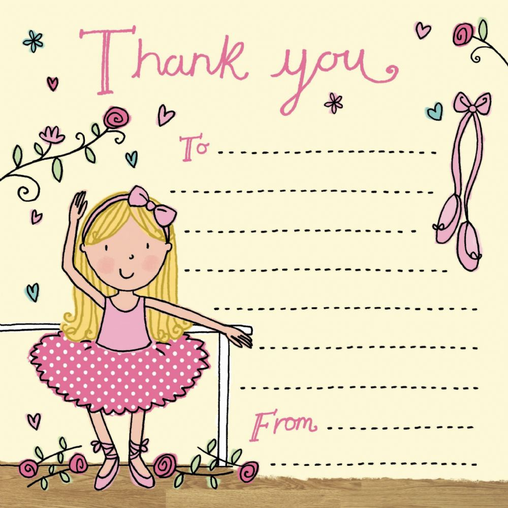 Thank You Notes For Kids Thank You Cards For Children